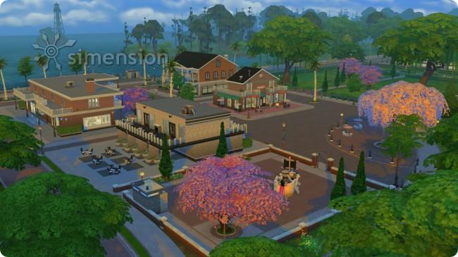 Die Sims 4 An die Arbeit mit neuer Wohnwelt Magnolia Promenade