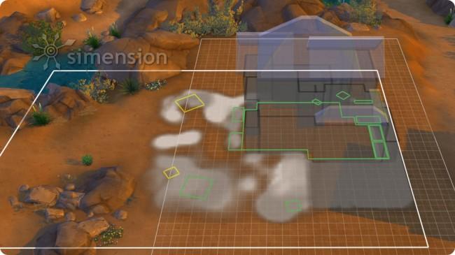 Grundstück verschieben in Die Sims 4