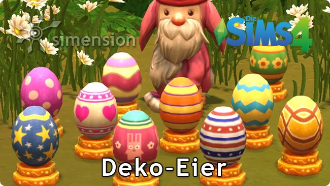 Die Sims 4 Sammlung Deko-Eier