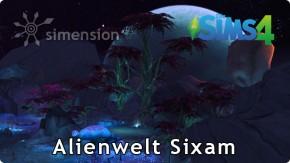 Geheimer Ort Alienwelt Sixam