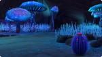 Sammelstellen für Pieksfrüchte auf dem Versteckten Ort Alienwelt Sixam