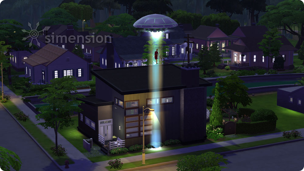 how to find aliens sims 4