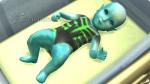 neugeborenes Die Sims 4 Alienbaby
