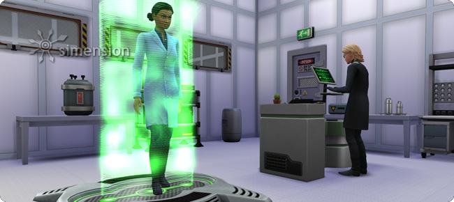 Sims 4 Erfindung Klonmaschine der Wissenschaftler