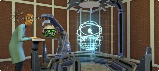 Erfindungserbauer in der Sims 4 Karriere Wissenschaftler