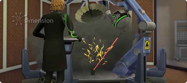 Verbesserung von Erfindungen am Erfindungserbauer in Die Sims 4