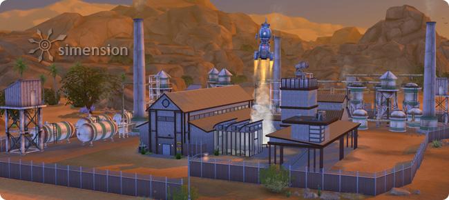 Arbeitsplatz der Karriere Wissenschaftler in Die Sims 4