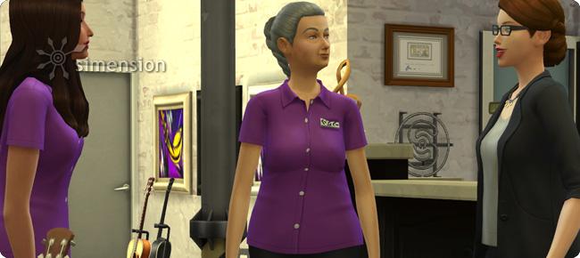 Angestellte anweisen in Die Sims 4