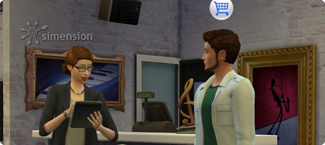 Kunden abkassieren in Die Sims 4
