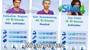 Sims 4 Einzelhandel – Mitarbeiter
