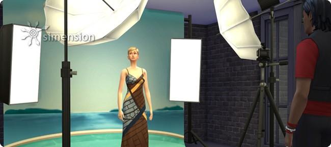 Sims 4 Fotostudio der Fähigkeit Fotografie