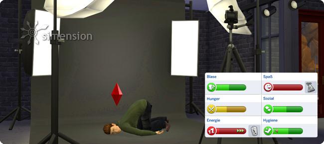 Sims 4 Foto-Studio als Simsfalle