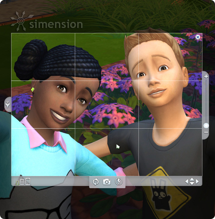 how to make a selfie on sims 4
