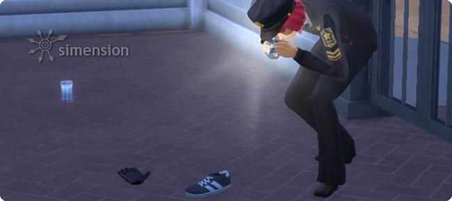 Aufnahme von Beweisfotos am Tatort