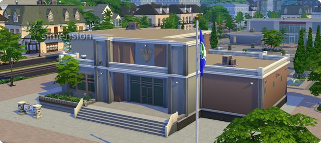 Sims 4 Polizeirevier