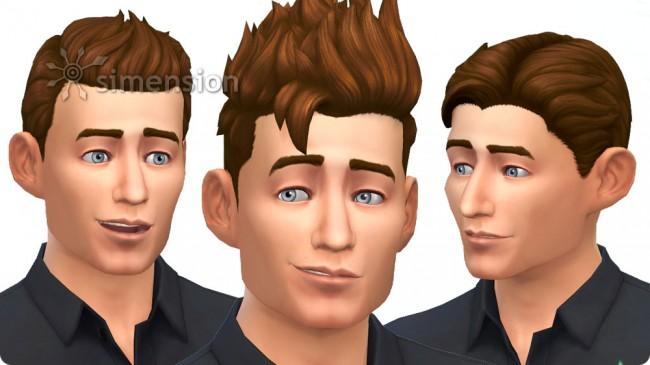 Sims 4 Luxus-Party-Accessoires mit 4 neuen Frisuren für Männer