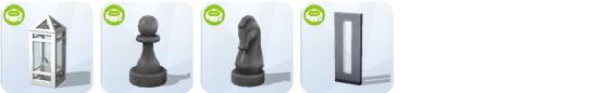 Die Sims 4 Sonnenterrassen-Accessoires - neue Beleuchtung