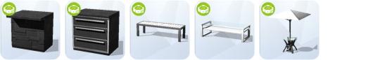 Die Sims 4 Sonnenterrassen-Accessoires - neue Komfort-Objekte