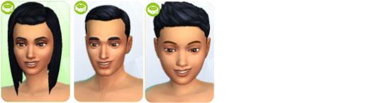 Die Sims 4 Sonnenterrassen-Accessoires - neue Frisuren