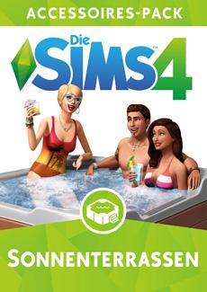 Die sims 4 Sonnenterrassen-Accessoires Cover
