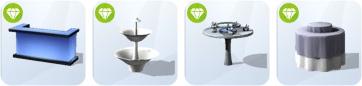 Die Sims 4 Party-Luxus-Accessoires - neue Aktivitäten