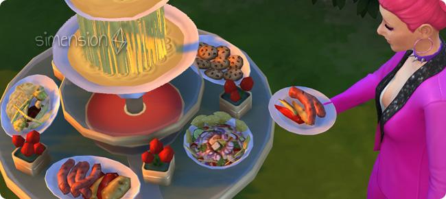 Die Sims 4 Luxus-Accessoires mit Buffet