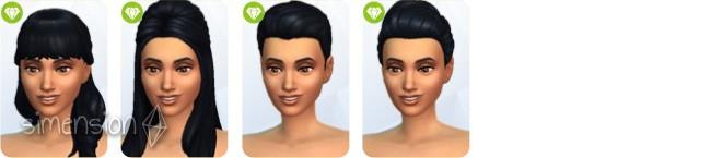 Sims 4 Luxus-Party-Accessoires mit 4 neuen Frisuren für Frauen