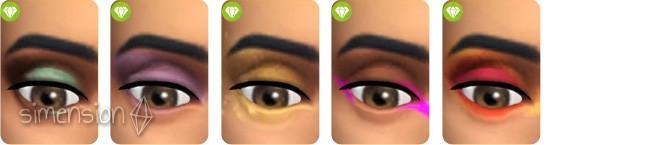 Sims 4 Luxus-Party-Accessoires mit 5 neuen Lidschatten für Frauen