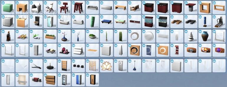 neue Objekte in Die Sims 4 Wellness-Tag