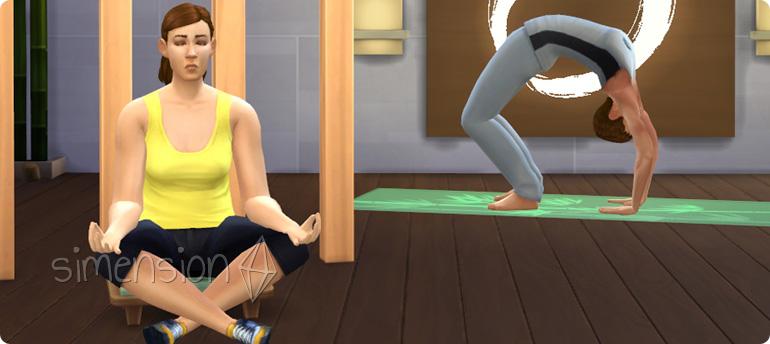 Die Sims 3 Wellness-Tag mit der Fähigkeit Wellness