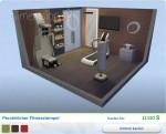 Sims 4 Wellness-Tag: Gestalteter FItnessraum Persönlicher Fitnesstempel