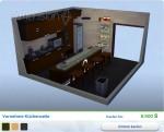 Sims 4 Wellness-Tag: Gestaltete Vornehme Küchenzeile