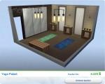 Sims 4 Wellness-Tag: Gestalteter Yoga-Palast