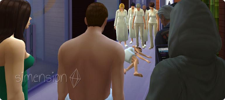 Tod durch Hitzeschlag in Die Sims 4 Wellness-Tag