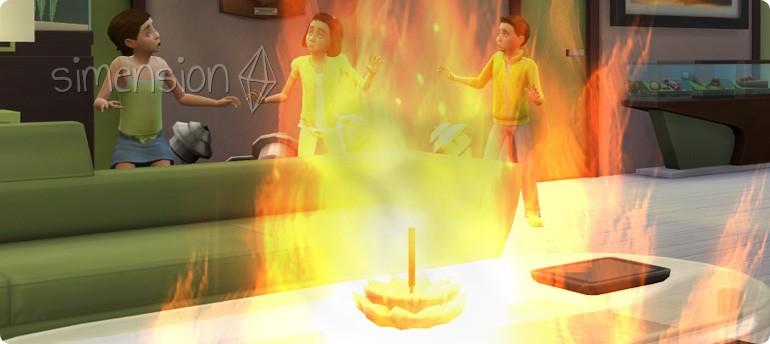 Räucherstäbchen können Brand verursachen