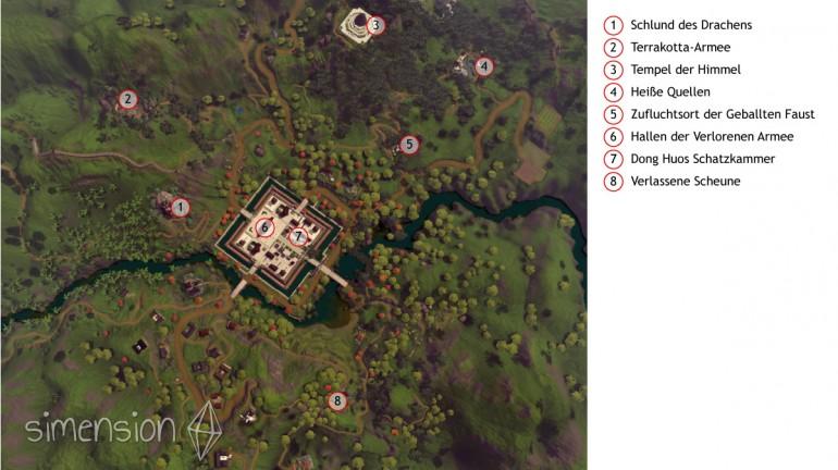 Die Sims 3 Gruften und Grabstätten: Übersicht Shang Simla