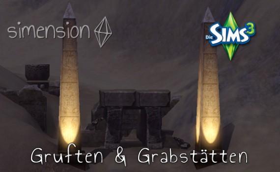 Die Sims 3 Gruften und Grabstätten