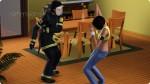 Sims überzeugen, sich in Sicherheit zu bringen