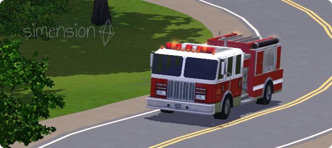 mit dem Löschzug zum Feuerwehr-Einsatz fahren