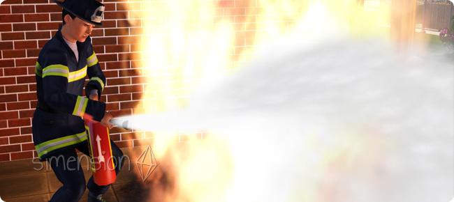 Sims 3 Karriere Feuerwehrmann / Feuerwehrfrau