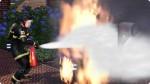 Feuerlöscher im Einsatz vor dem Upgrade