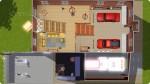 Allgemeine Feuerwache Grundriss 1. Obergeschoss