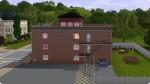 Twinbrooks Feuerwache seitliche Ansicht