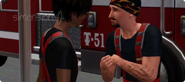 Feuerwehrkollegen befreunden für bessere Teamleistung