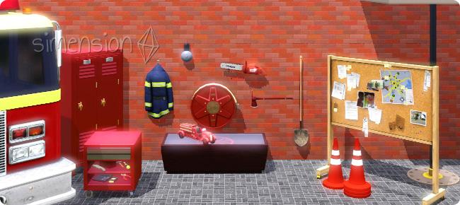 nützliche Objekte für Feuerwehr-Sims