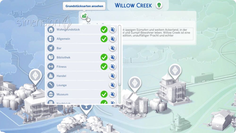 Sims 4 Welten Bearbeiten