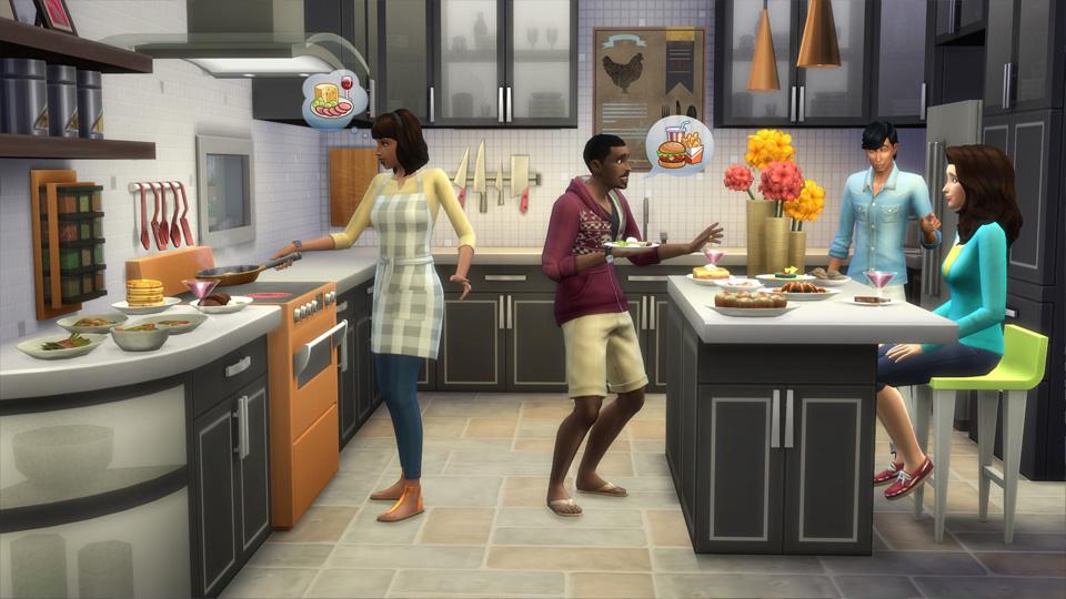 Die sims 4 coole k chen accessoires simension for Sims 3 cuisine moderne
