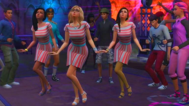 Die Sims 4 Zeit für Freunde mit neuer Fähigkeit Tanzen