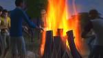 zusammen am Lagerfeuer abhängen