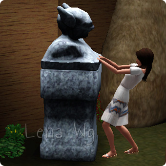 Bewegliche Statuen verschieben